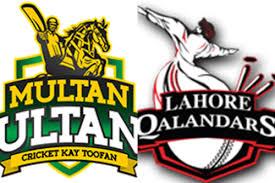 10th Twenty of P.S.L Between will be played Lahore Qalandars vs Multan Sultans at 5:mp in sharjah stadium dubai, Cricket News