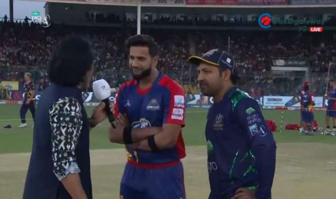 Quetta's Gladiators won the toss eleted to bowling, Cricket News