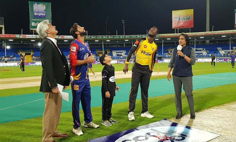 Karachi Kings won the toss and elected to field, PSL News