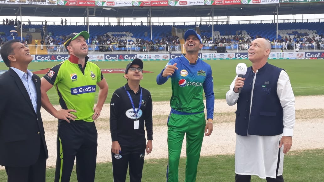 Multan Sultanzee won the toss against Lahore Qalandar and decided to bow down first, PSL News