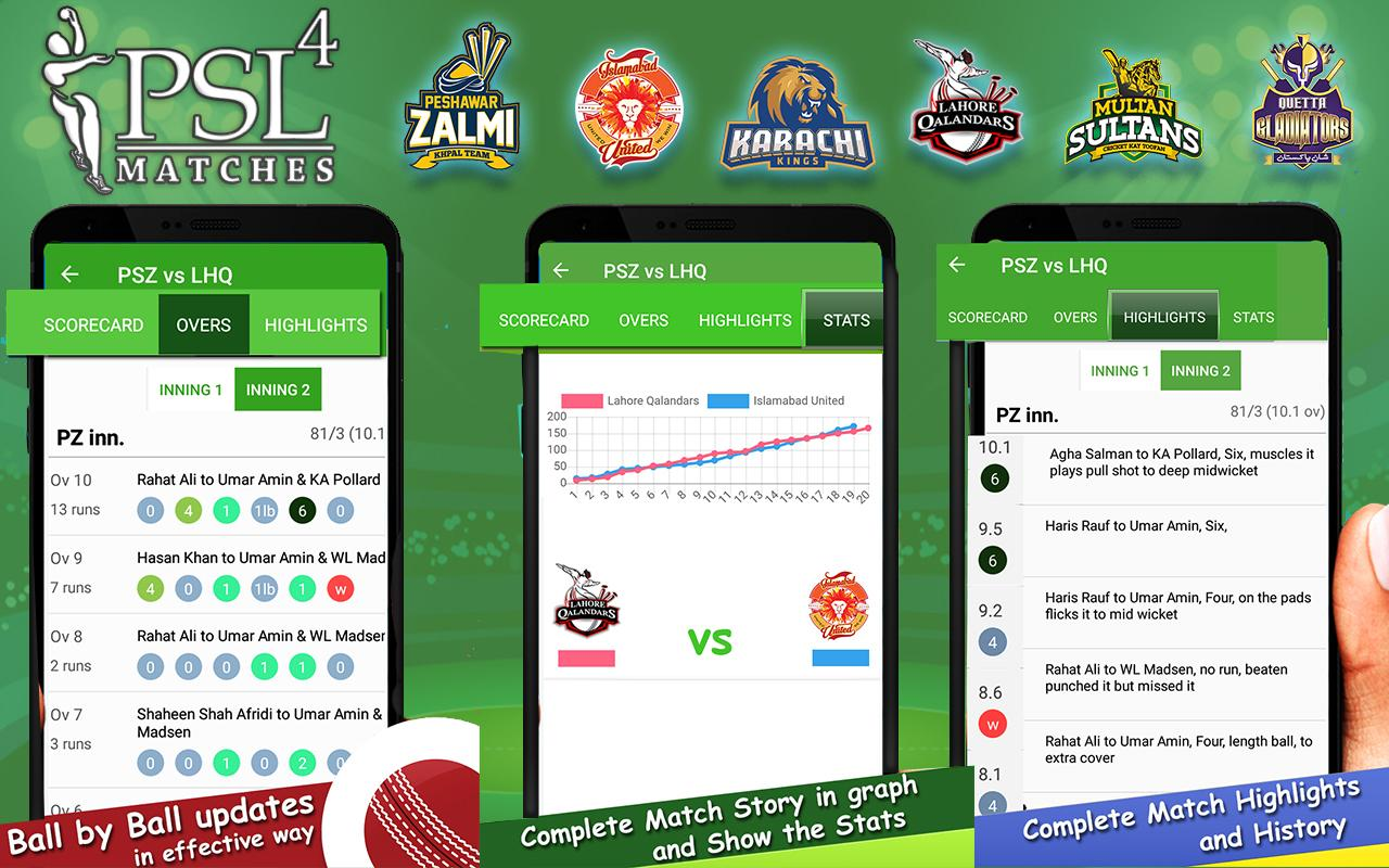 New app has been introduced to update PSL matches, PSL News