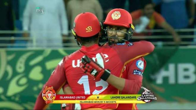 PSL4, Defendant Champion Islamabad United beat Lahore Qalandar by 5 wickets, PSL News