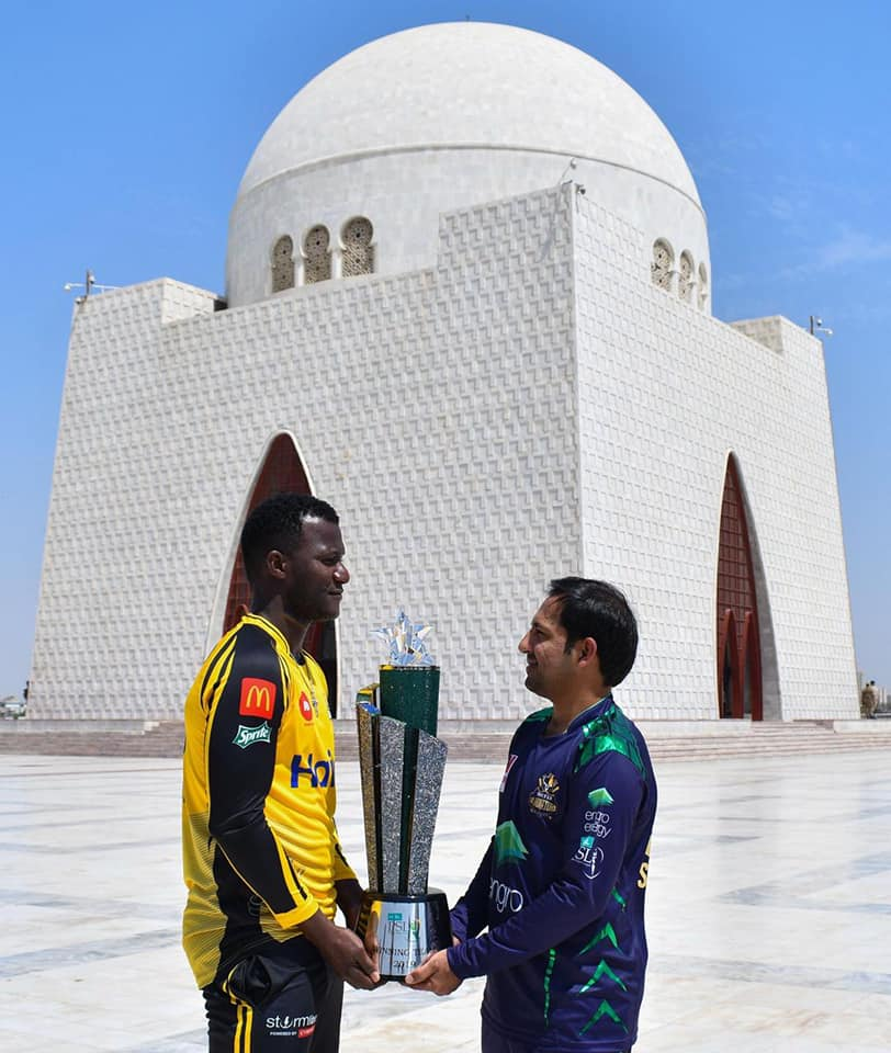 The 34th Final T20 4 edition of P.S.L will be played today between Peshawar zalmi & Quetta gladiotors at internationla stadium in karachi, PSL News