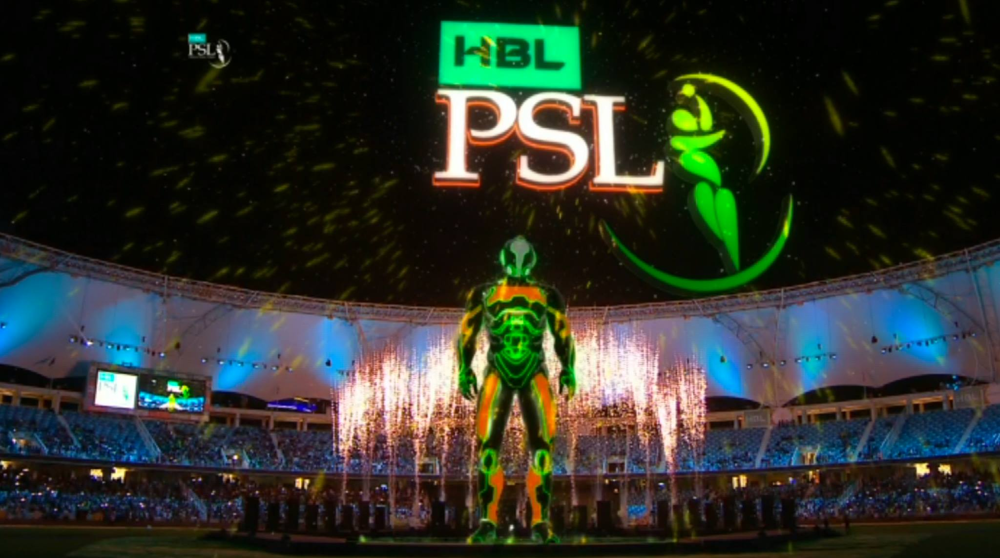 The fourth edition of Pakistan Super League has started a regular start today, in which the madness groups and other artists including Fawad Khan performed, PSL News