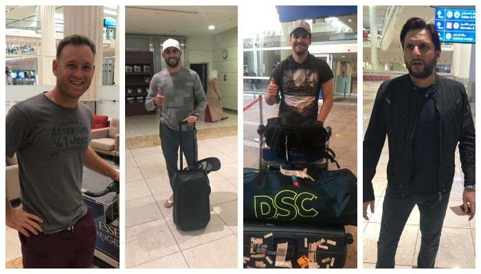 The fourth edition of the Pakistan Super League will be held tomorrow, for which players of various teams will continue to visit Dubai., PSL News